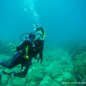My PADI Scuba Diving Course at Netrani Islands, India