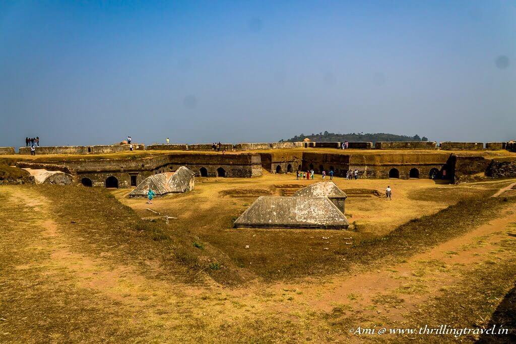 Star shaped Manjarabad Fort, Sakleshpur