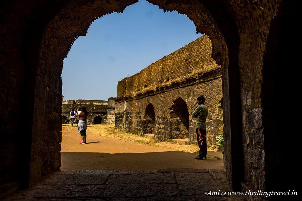 Entrance to Manjarabad fort at Sakleshpur