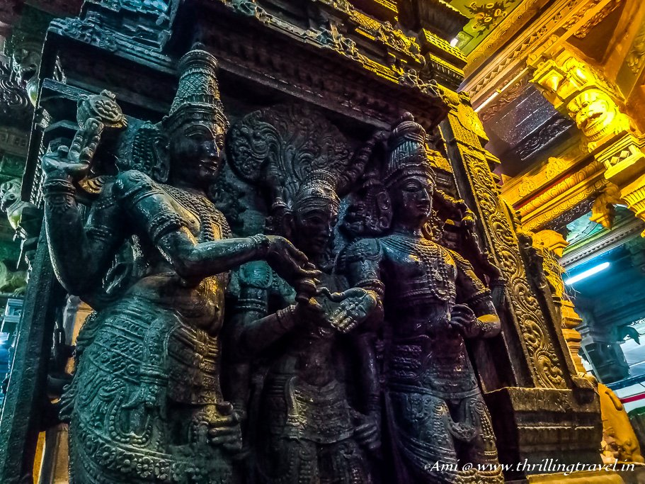 Marriage Scene at Meenakshi Temple