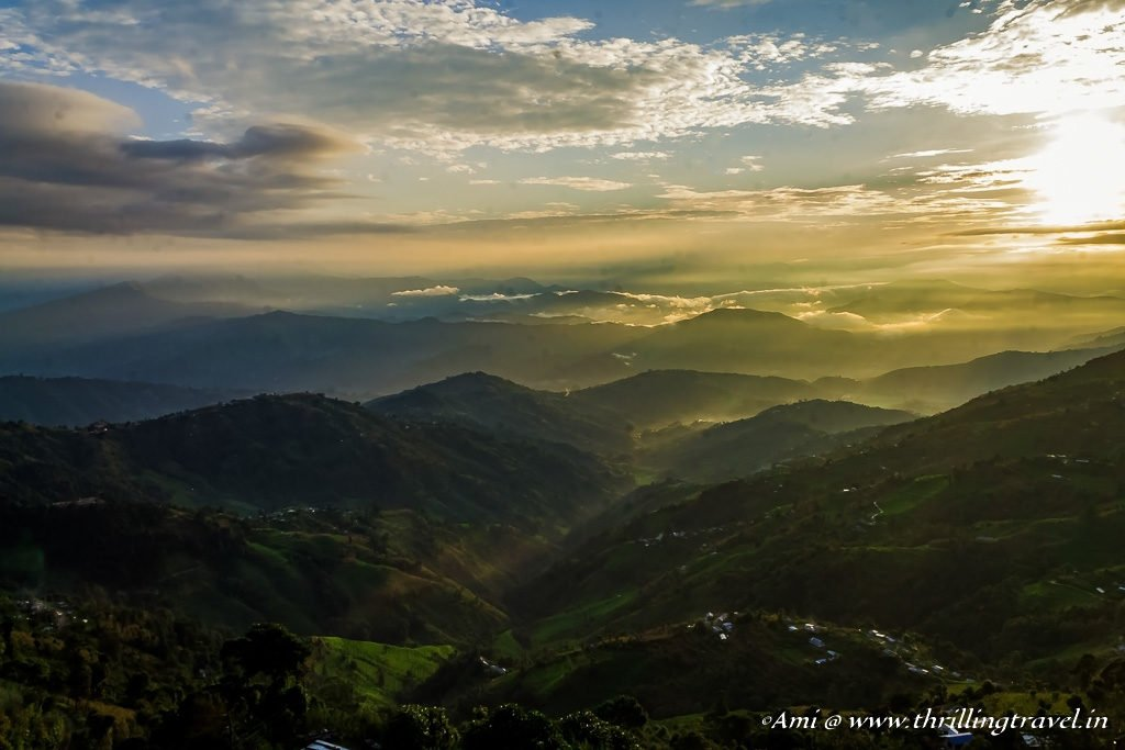 The Sunkissed Valley of Nagarkot