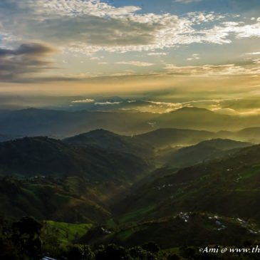 The Romance of the Sun & Mountains at Nagarkot, Nepal
