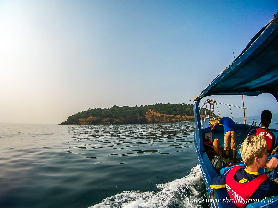 Netrani Island in Karnataka for Scuba Diving