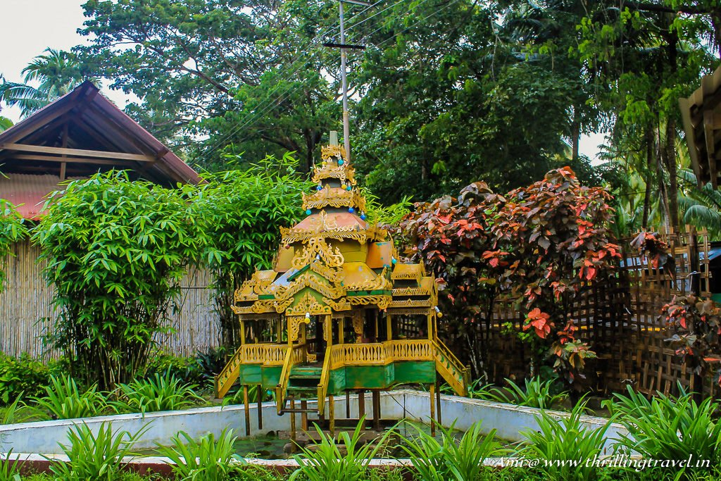 Pagoda Styled Temples on Havelock Island