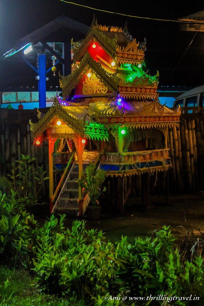 Pagoda Styled temples that float from Myanmar to Havelock Island