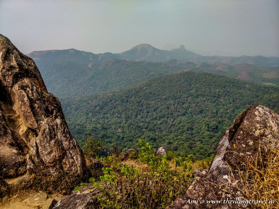 At the second peak of Pandarva Gudda hill