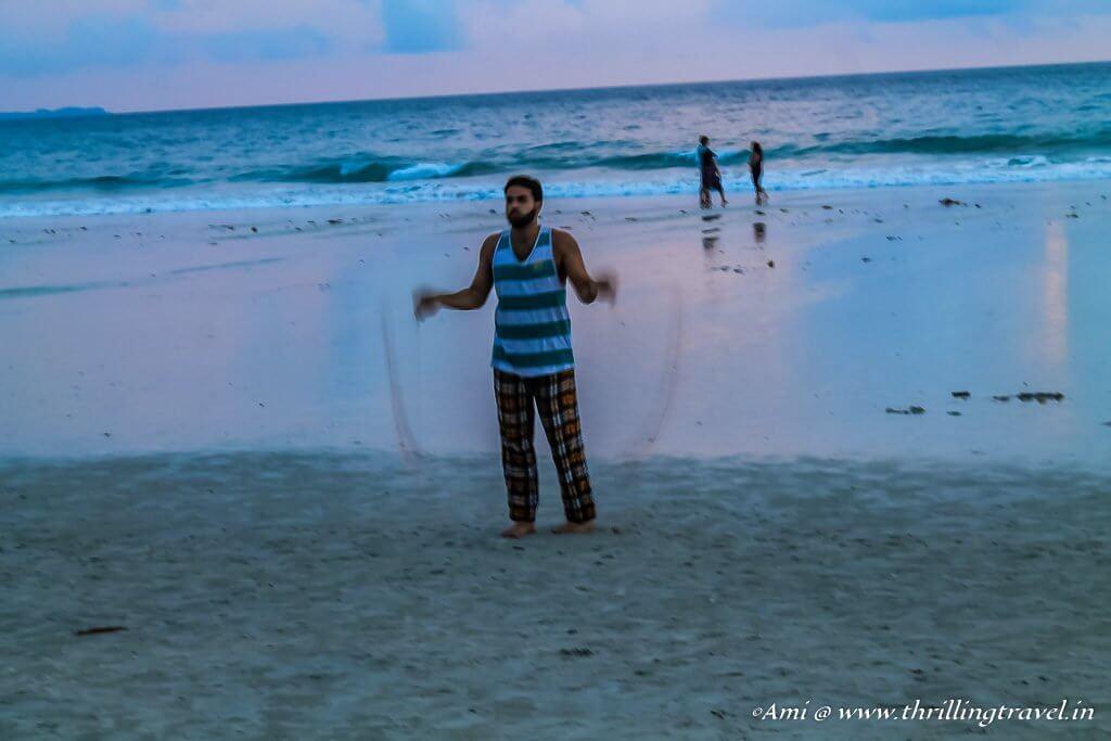 Fun for kids and adults at Radhanagar Beach, Havelock Island