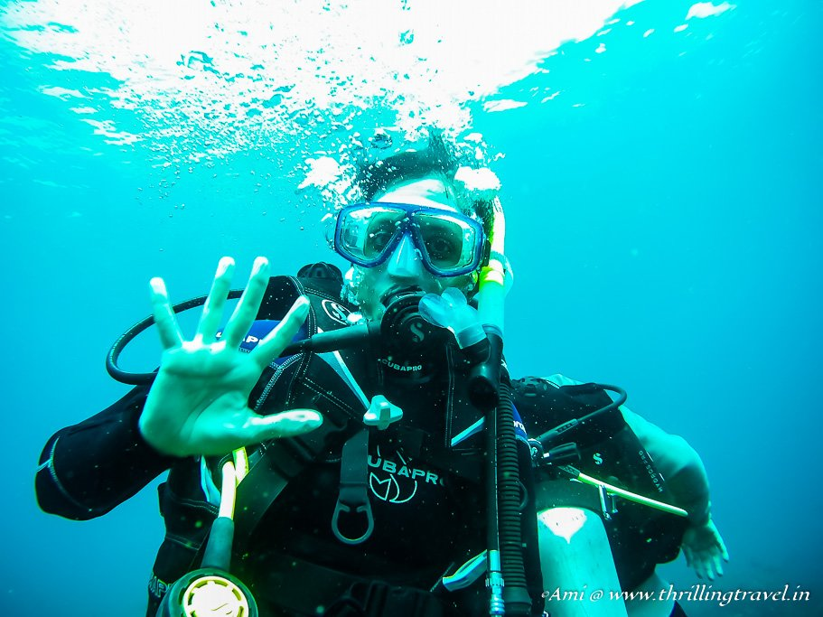 Hallelujah! I have done my PADI Scuba Diving Certification