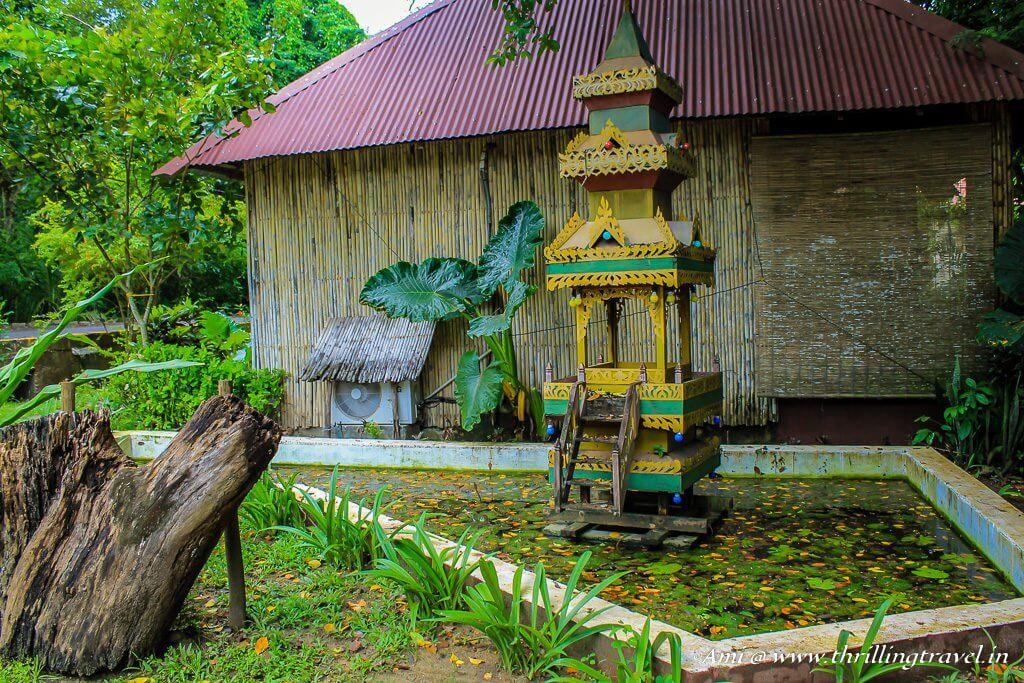 Myanmar temple at Wild Orchid Resort, Havelock Island