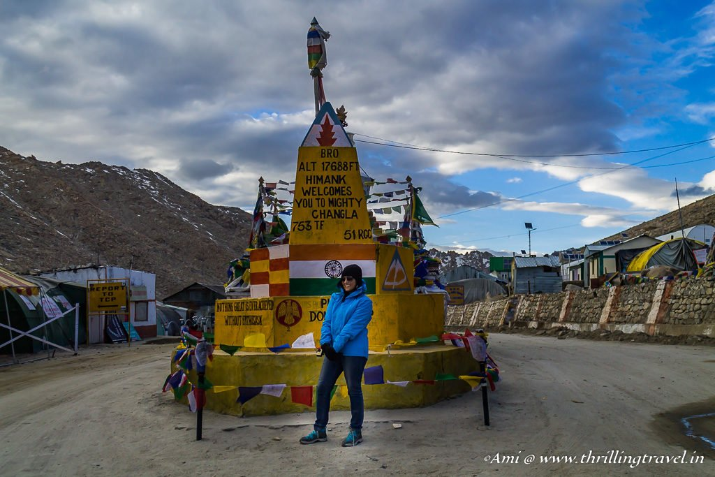 Ladakh Travel Guide: Dealing with AMS at 17688 ft above sea level at Changla Pass
