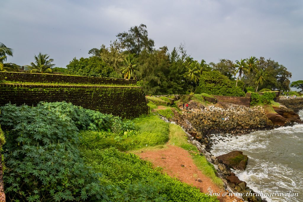 Kannur Fort or St. Angelo's fort