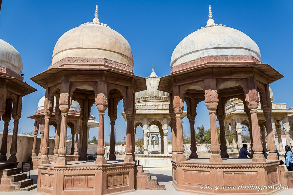 Royal Cenotaphs in Bikaner