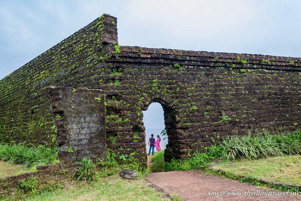 Scenic spots in Kannur Fort