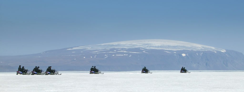 Snowmobiles in Iceland