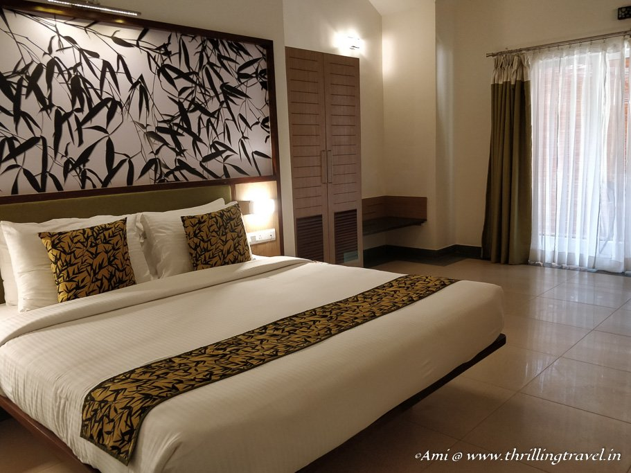 My room at Sterling Holidays Wayanad - a RCI property