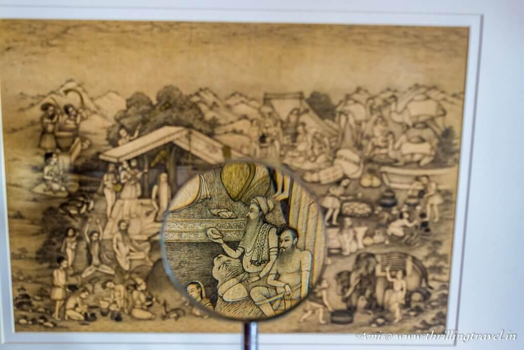 Details in Bikaner Miniature Paintings