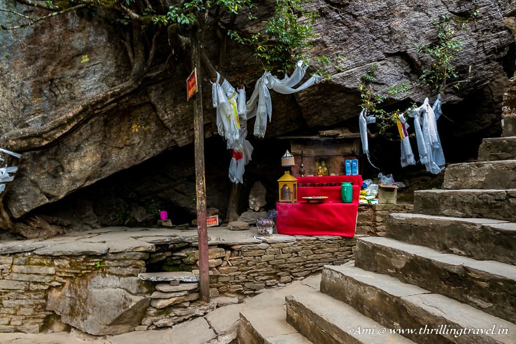 Entrance to the Paro Taktsang Monastery
