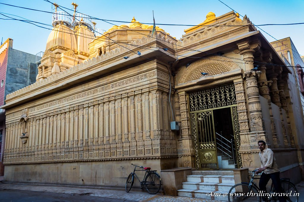 One of the Jain Temples on the Merchant Trail of Bikaner