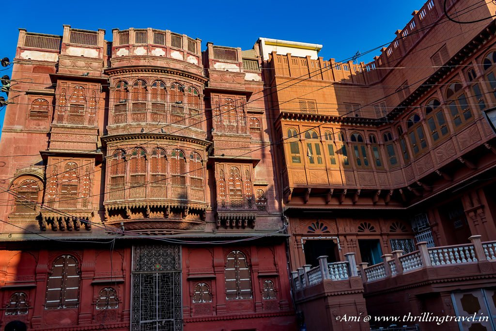 Kothari Haveli - yet another merchant haveli in Bikaner