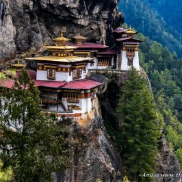 Paro Taktsang or the Tiger's Nest Monastery in Bhutan