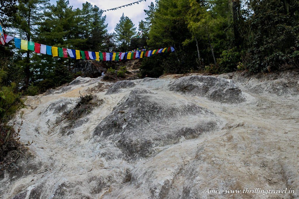 Rugged trails of Paro Taktsang Hike