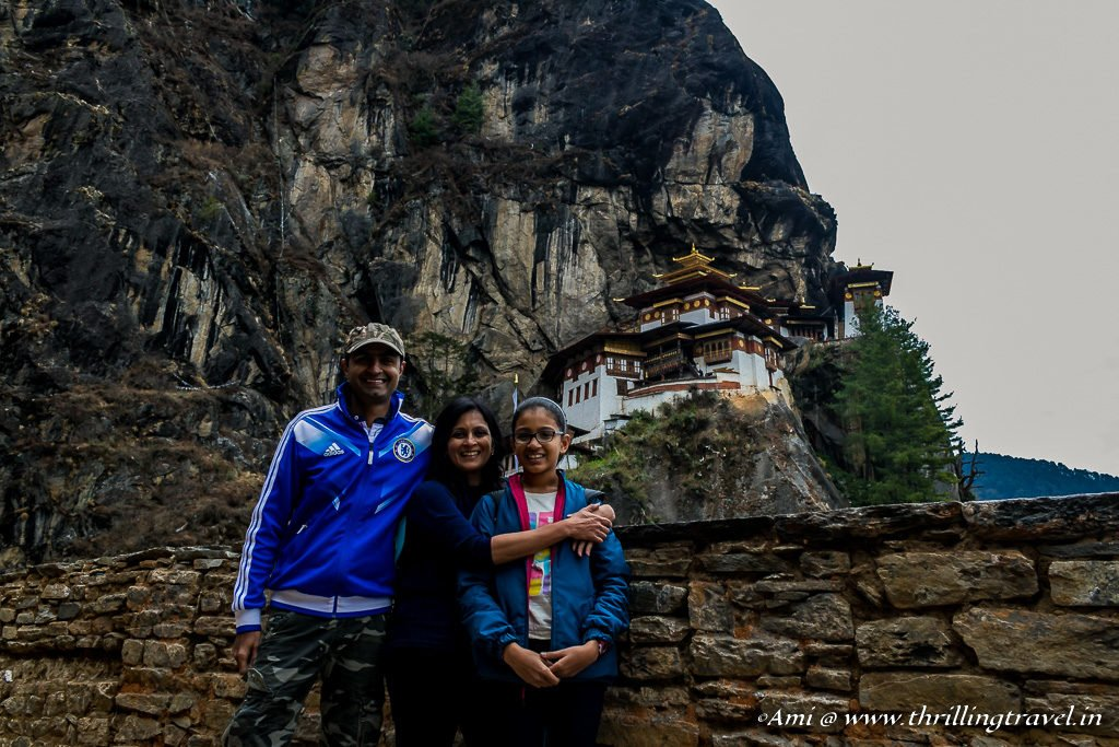 The Triumphant Trio at Paro Taktsang
