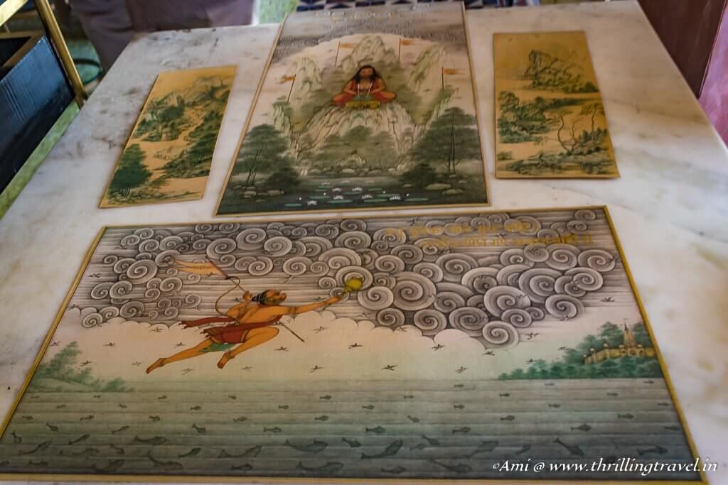 Themes in Bikaner Miniature Paintings