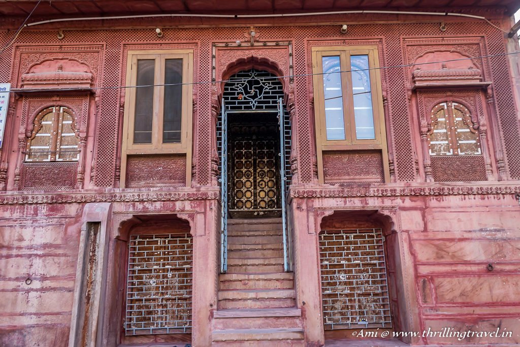 Traditional touch to Dadda Haveli
