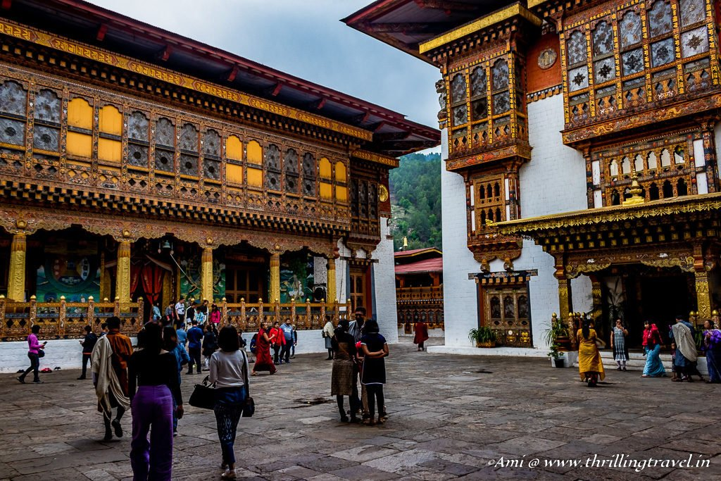3rd Dorchey of Punakha Dzong in Bhutan