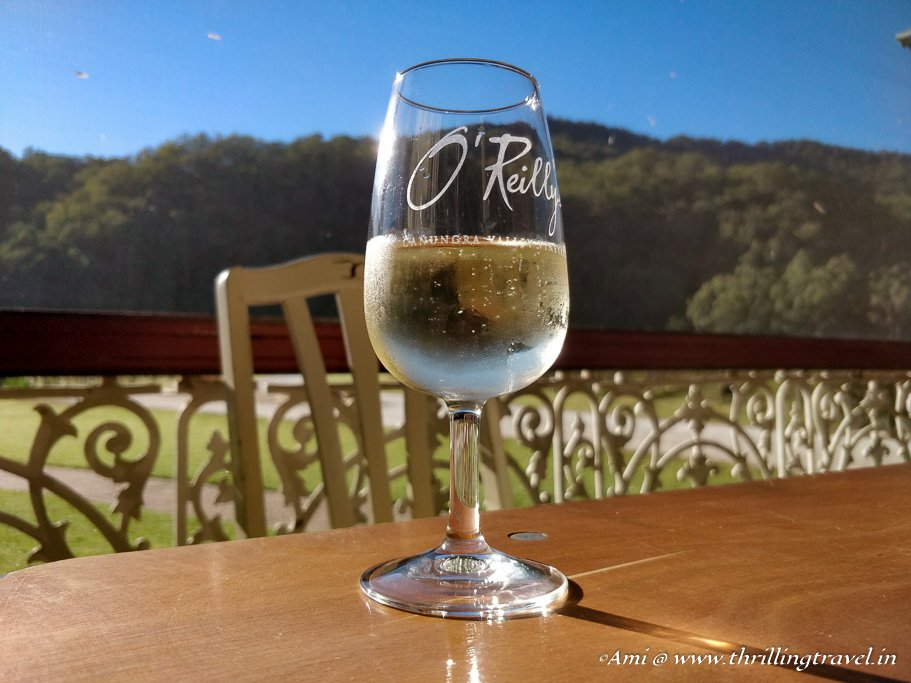 Bubbly Breakfast on the O'Reilly Vineyard, Canungra, Gold Coast