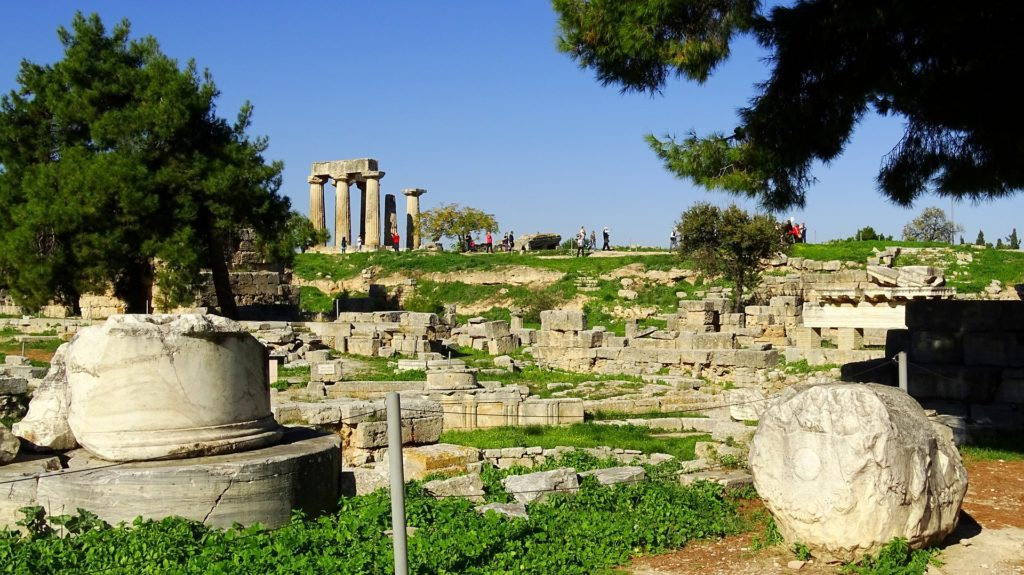 Corinth - a day trip from Athens