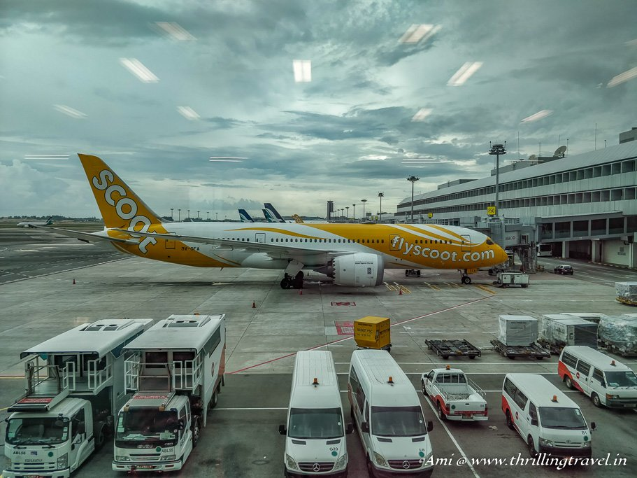 FlyScoot Airlines in Singapore