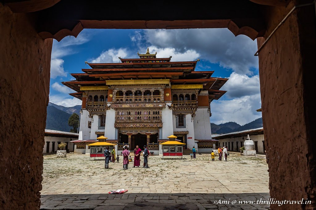 Gangteng Monastery at Phobjikha Valley