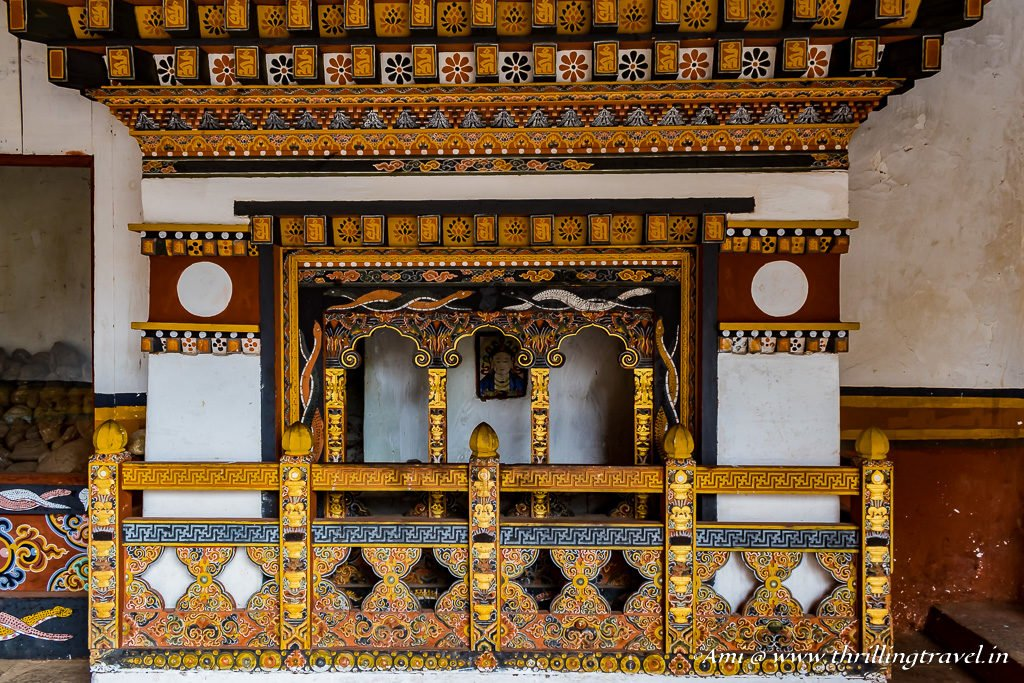 The Shrine of Nag Devi at Punakha Dzong