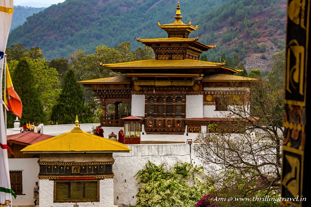 Old Dzong in Punakha