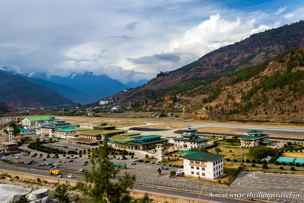 Bhutan Travel Guide to getting to Bhutan by Air - Paro Airport