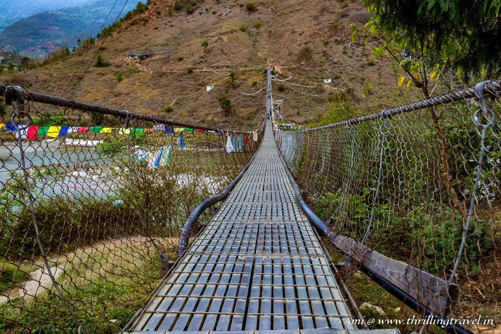 Punakha Suspension Bridge, Bhutan