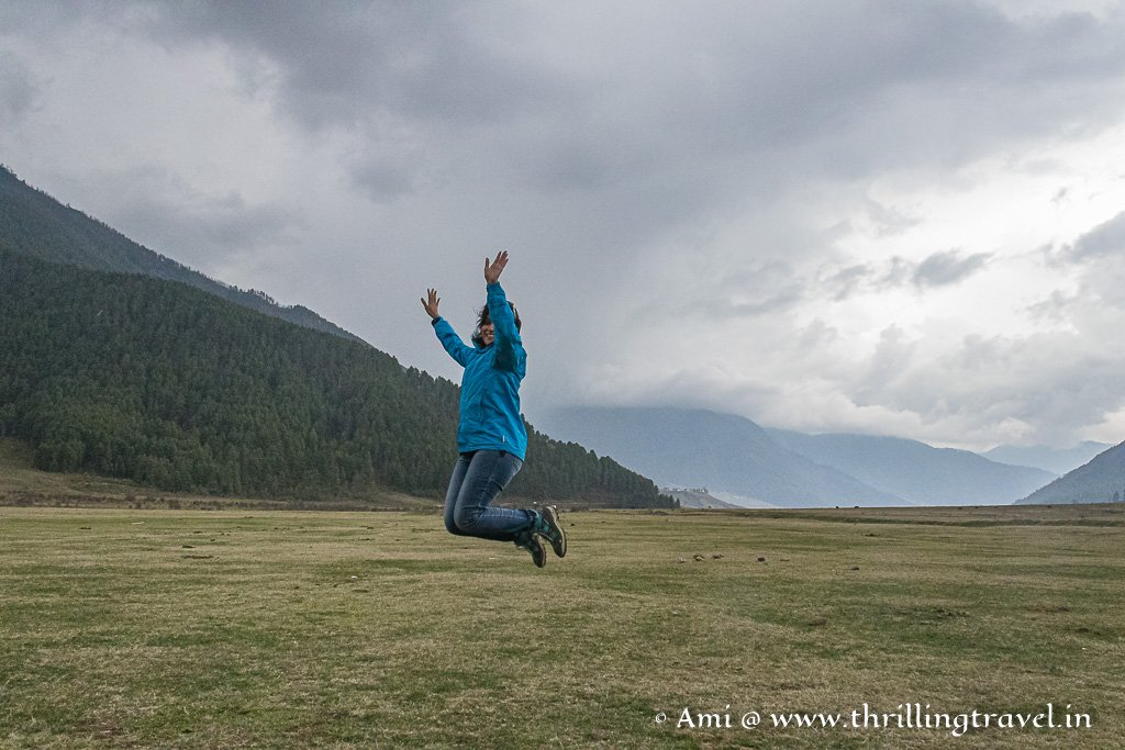 Jumping with joy in the Silent Valley