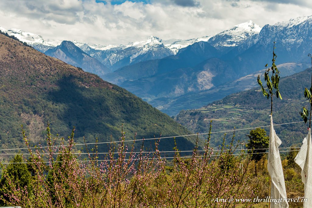 Snowcapped Black Mountains, Bhutan