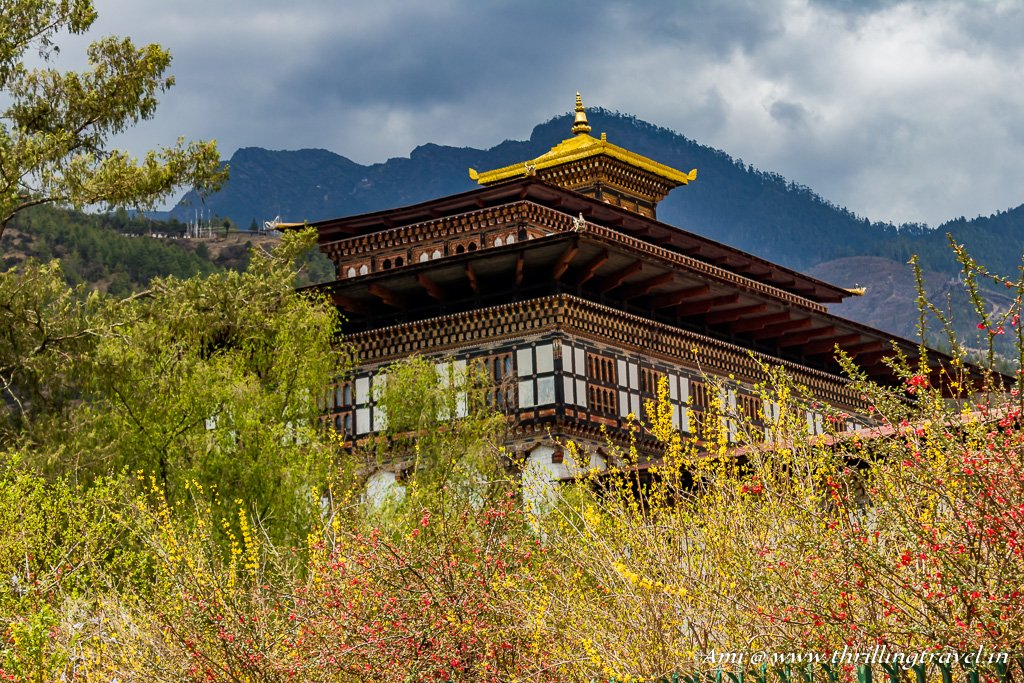 Thimphu Dzong - where you can get a guide as a part of your entry ticket.