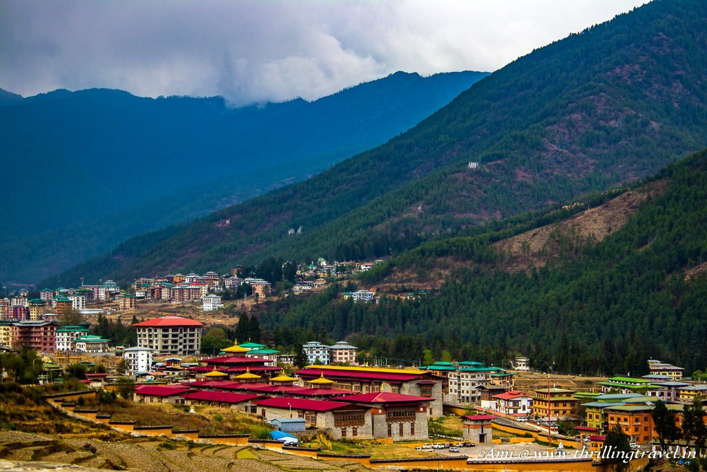 Thimphu - The Capital of Bhutan