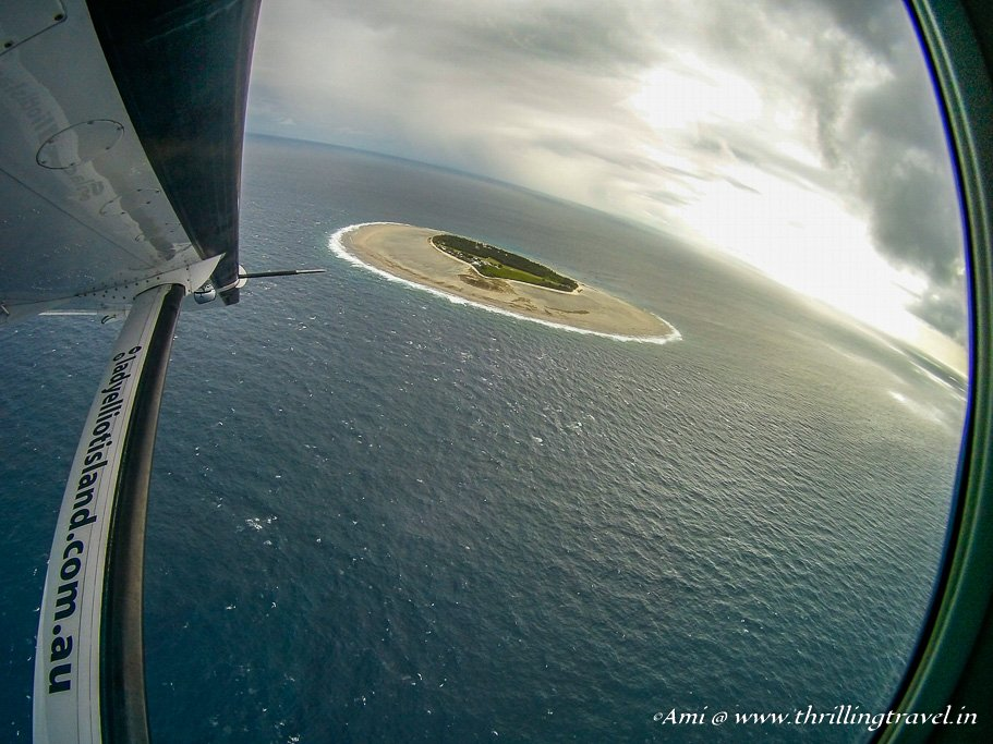 Bidding Adieu to the Lady Elliot Island