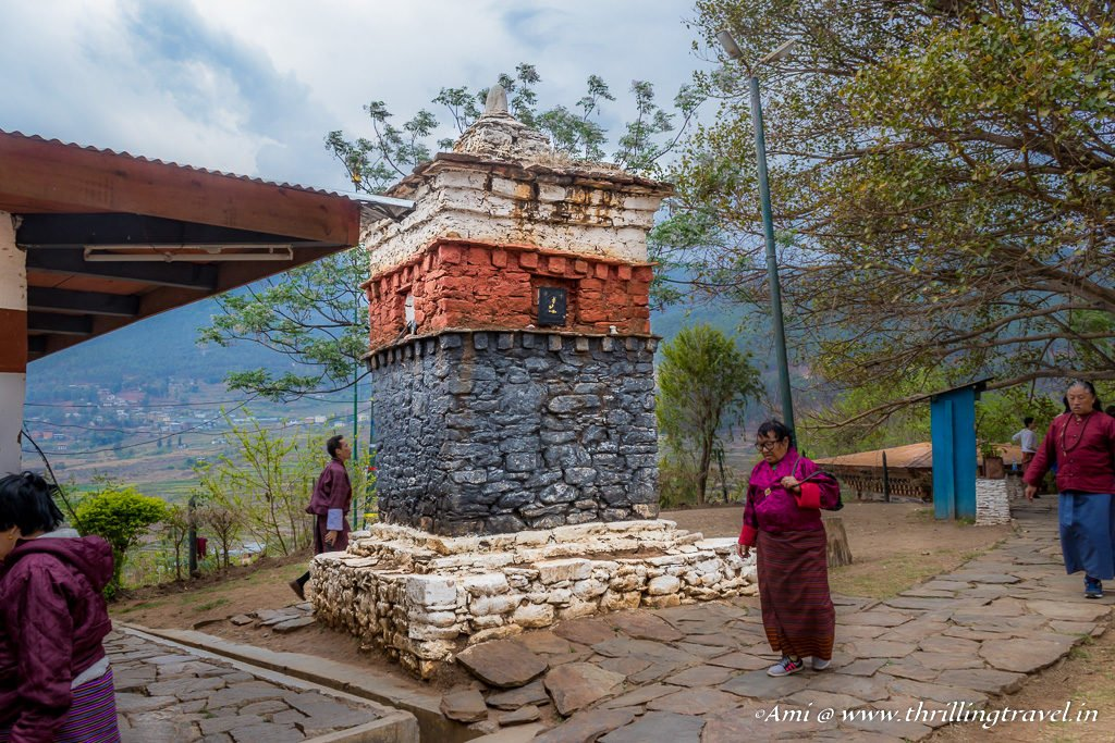 The Chorten in which the demon is trapped at the Fertility temple