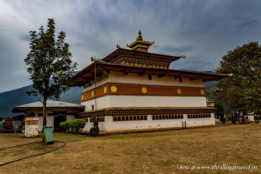 Chimi Lhakhang or the Fertility Temple in Punakha, Bhutan