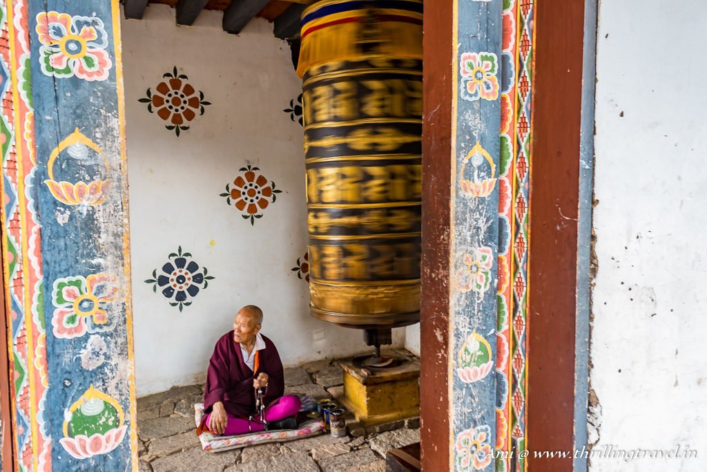 Inside the Fertility Temple, Bhutan