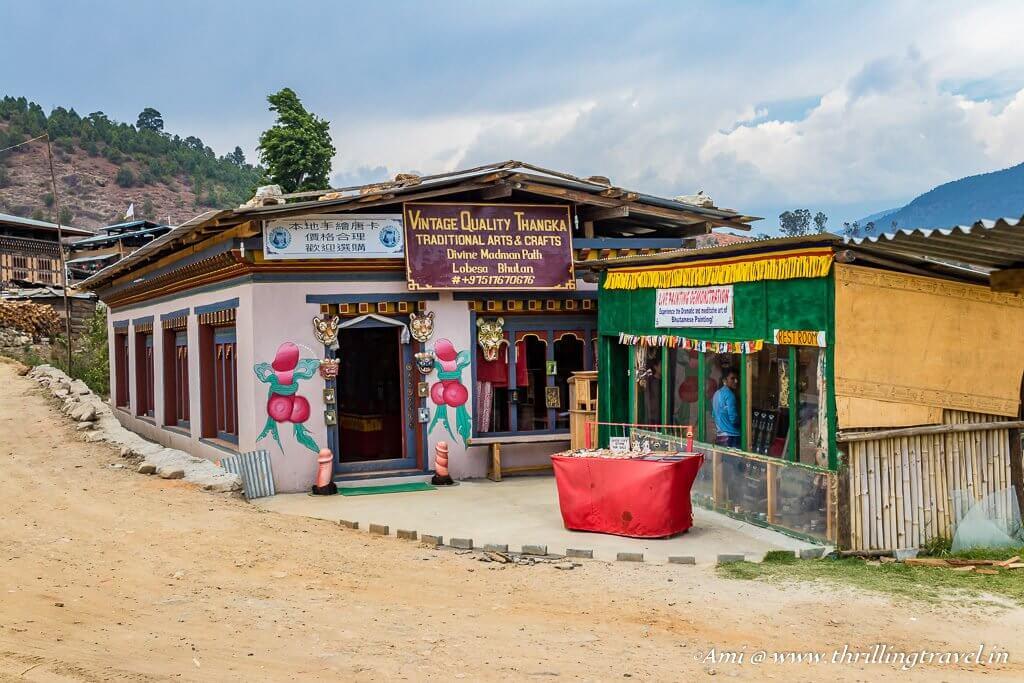 Lobesa Village along the way to Feritlity Temple