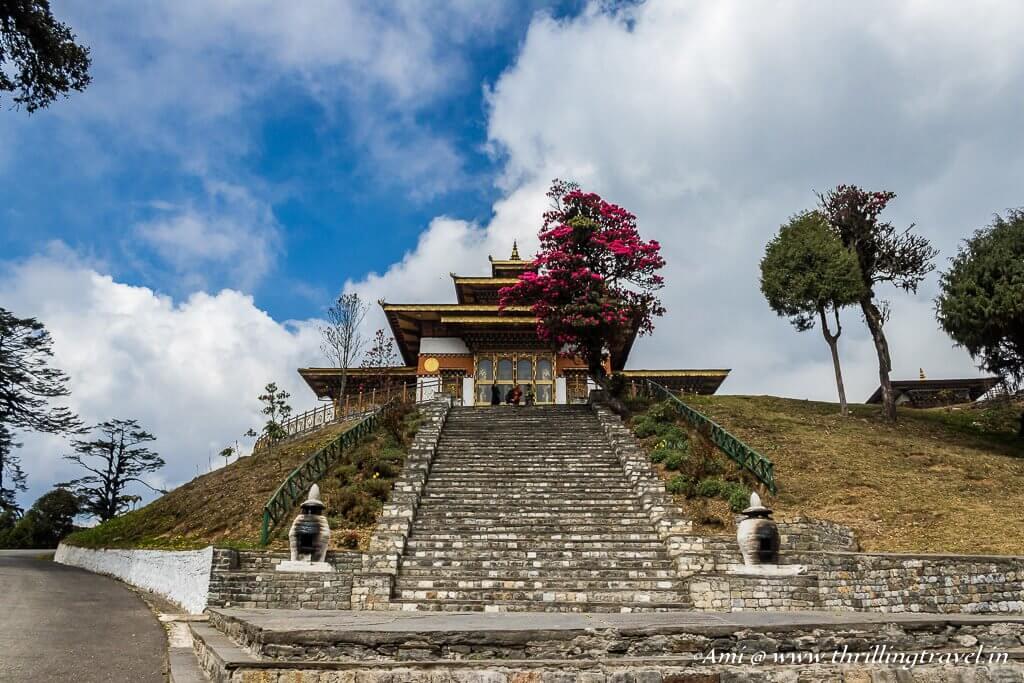 Druk Wangyal Lhakhang at Dochula Pass, Bhutan
