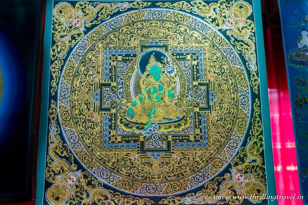 Thangkha Art in Bhutan