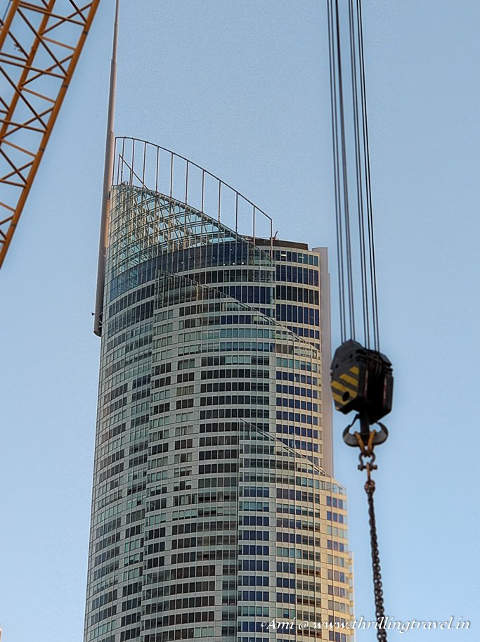 The SkyPoint Climb as seen from Surfer's Paradise in Gold Coast