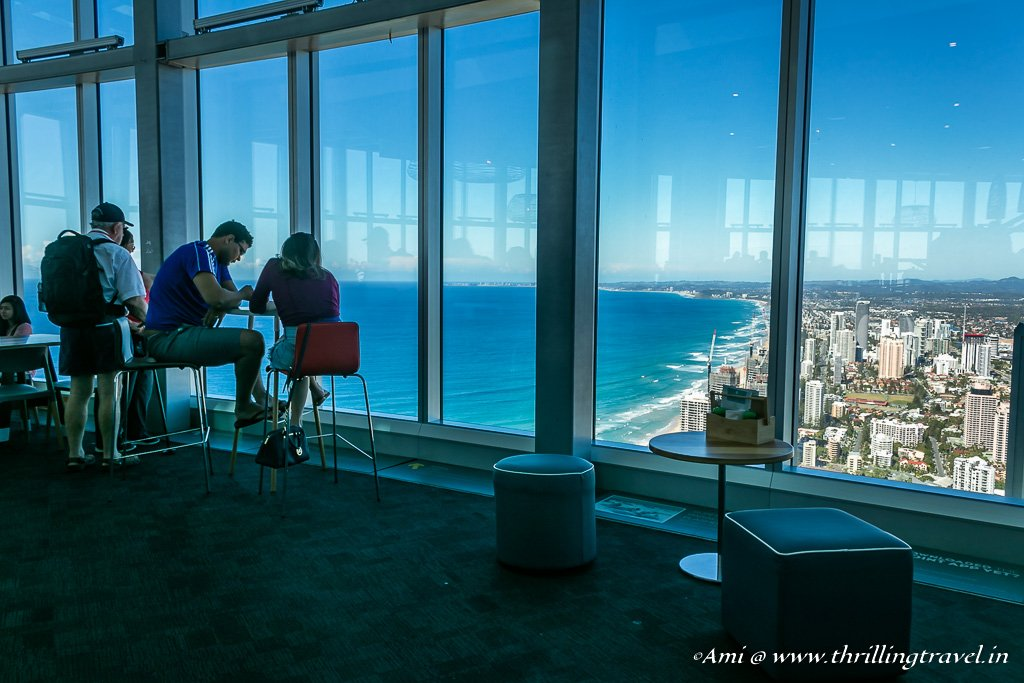 Climbing High on the Q1 SkyPoint Climb in Gold Coast
